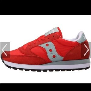 Looking for these!!! Red Saucony Jazz